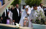 تجدید عروسی با حضور فرزندان!